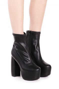Jeffrey Campbell Shoes FICTION Shop All in Black