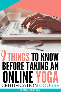 Want to become a kids yoga instructor? Here are 9 things to know before taking an online certification course. Get started teaching yoga with these easy tips. Yoga For Kids, Exercise For Kids, Group Fitness, Health Fitness, Fitness Certification, Online Yoga, Fitness Activities, Kids Branding, Yoga Teacher Training