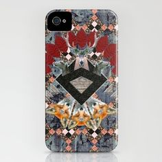 ▲ NAWKAW ▲ iPhone Case by Marie Brignot ▲ BOHEMIAN BLAST - $35.00