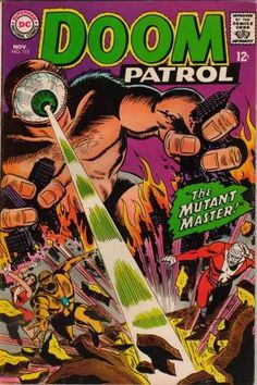 Doom Patrol #115 - The Mutant Master! (Issue)