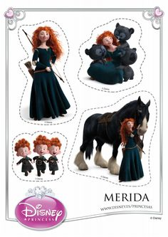 Merida Cut Outs
