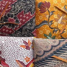 The many batik colors of Djokdja Batik.   #djokdjabatik