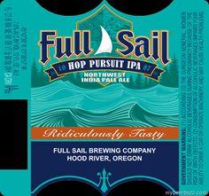 mybeerbuzz.com - Bringing Good Beers & Good People Together...: Full Sail Updates Hop Pursuit IPA, Amber & Classic...