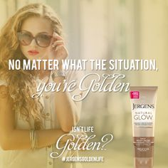 When you live the Golden Life, you're golden, gorgeous, and ready for whatever comes your way. Enter the JERGENS® Golden Life Sweepstakes for chance to win 1 of 130 Golden Grab Bags filled with dazzling prizes: http://www.jergens.com/golden-life/ #JergensGoldenLife #Sweeps