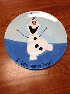 Olaf from Frozen movie - Made at Paint a Piece Commack