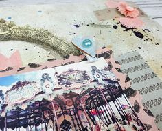 Add embellishments to your scrapbook layouts