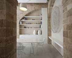 jaffa apartment stone restoration :: pitsou kedem architect. Israel