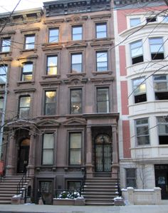 The Trent's brownstone in london