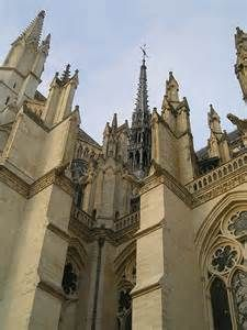 Amiens Cathedral, France: Architectural Detail