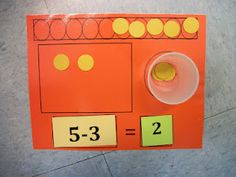 This was on a Kindergarten Blog... they still don't conceptualize in 2nd grade. This could help! Adding 20 circles to mine!