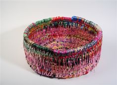 concepts, forms, materials, techniques, and processes related to basketry Basket Weaving, Hand Weaving, Woven Baskets, Marine Rope, Rope Art, Projects For Adults, Textiles, Gourd Art, Book Crafts