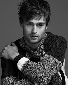 Douglas Booth for Just Jared