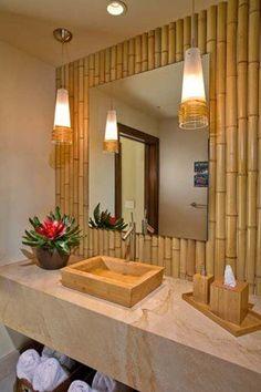 Decorate Your Home With Creative Diy Bamboo Crafts Zen Bathroom Decor Bamboo Bathroom Bathroom