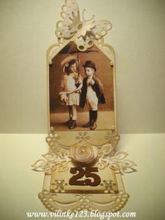 Vilinke Ročno delo: Prva ljubezen: Handmade card, Vintage card, Wedding Anniversary Card, Flowers card, Butterflies cards