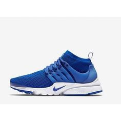 Nike Air Presto Long Blue Air Presto Flyknit, Nike Clearance, Air Max Sneakers, Adidas Sneakers, Nike Clothes Mens, Nike Presto, Football Shoes, Blue Nike, Nike Outfits
