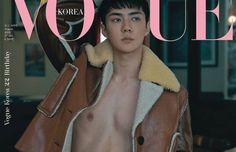 Sehun do EXO exibe sua elegância e sensualidade para revista 'Vogue'
