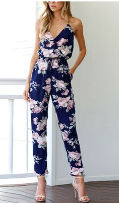 $30.50   I absolutely need this floral jumpsuit   Sold on Pop Real and get a 30% off coupon as a new costumer!   Women's fashion   Women's style   women's outfit   Spring Fashion   Spring style   Women's wardrobe   Romper   floral romper   #affiliate