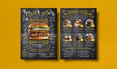This is our flyer template project for cafe and restaurant owner. Klapaucius Co on Behance