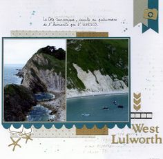 West Lulworth - Le blog de scrapacrolles