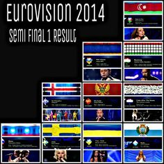 eurovision final results table 2014