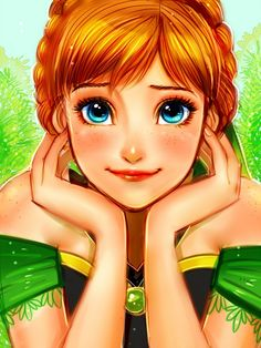 Shared by desert dreamz. Find images and videos about art, disney and frozen on We Heart It - the app to get lost in what you love. Walt Disney, Cute Disney, Disney Girls, Disney Magic, Disney Princess Art, Disney Fan Art, Princess Anna, Disney Cartoons, Disney Movies