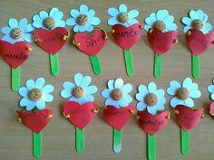 cute heart flowers