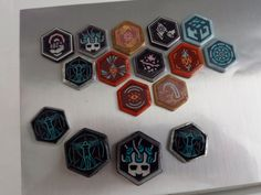 Ingress *Hacker* Agent Badge Pin- Hexagonal Pin for Your Bag or Jacket