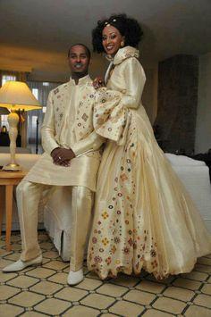 Ethiopian wedding attire