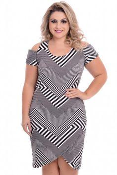 Vestido Plus Size Kelen