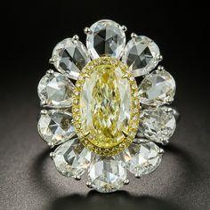 Stunning Jewelry Design In Cubic Zirconia Rose Gold Jewelry, Sterling Silver Jewelry, Diamond Jewelry, Antique Jewelry, Diamond Rings, Vintage Jewelry, Diamond Flower, Oval Diamond, Vintage Diamond