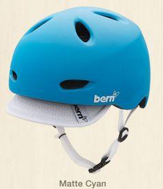 Bern Berkeley Bike Helmet in Matte Cyan