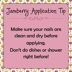 Jamberry Application Tip!   http://mollybfarley.jamberrynails.net/