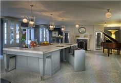 Transitional (Eclectic) Kitchen by Karen Williams