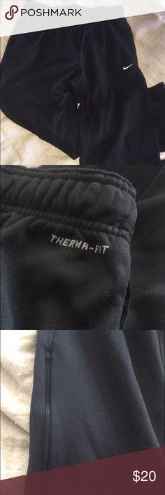 Nike sweatpants Black Nike therma-fit sweats pants Nike Pants Track Pants & Joggers
