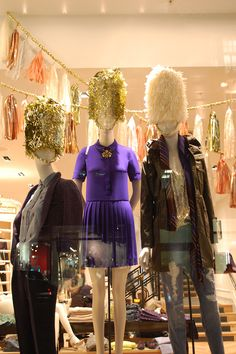 J Crew new store opening, in collaboration with Confetti Systems   Regent Street, London