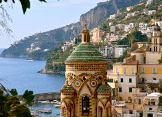 Amalfi, Italy..  During our honeymoon, I promised to one day visit again.....GOD pleeeeaseeee grant me this wish!!!