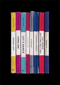 David Bowie 'Let's Dance' Album As Penguin by StandardDesigns