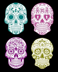 Free Halloween Printables: Day of the Dead