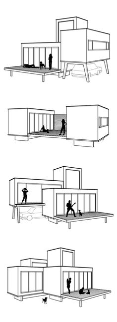 New House Design Ideas Layout Shipping Containers 67 Ideas Container Architecture, Container Buildings, Architecture Design, Sustainable Architecture, Storage Container Homes, Cargo Container, Container House Plans, Container Cabin, Container Store