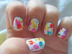 Acrylic nail designs are really popular nowadays. Keep your nails shiny together with bold. Don't neglect to enhance your coffin nails beauty with stones. Don't neglect to take a photo of your gorgeous nails. Summer Nail Polish, Summer Nails, Pink Summer, Summer Fun, Gorgeous Nails, Pretty Nails, Amazing Nails, Nice Nails, Splatter Paint Nails