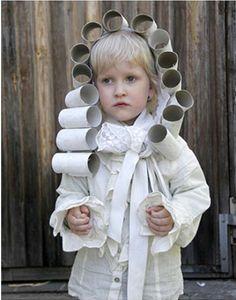 Top 10 Best DIY Halloween Costumes for kids / Seen here: Rollhead Toilet Paper Wig (as in Louis XIV) Best Diy Halloween Costumes, Fröhliches Halloween, Halloween Karneval, Homemade Halloween, Holidays Halloween, Diy Costumes, Costume Ideas, Costumes 2015, Awesome Costumes