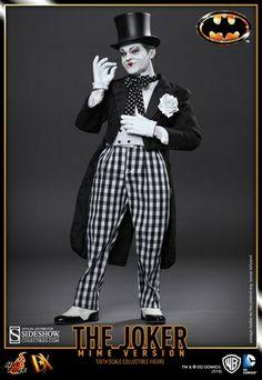 The Joker (1989 Mime Version) DX Series Sixth Scale Figure. #joker #batman alteregocomics.com
