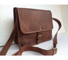 Leather cross body/ messenger/IPAD/ satchel/shoulder bag, $47.0