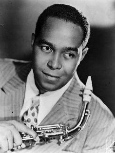 """Charlie Parker, aka """"""""Bird"""" & """"Yardbird"""", jazz saxophonist & composer…"""