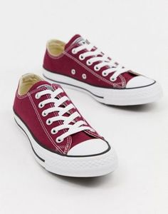 c229cdd8f93 Converse Chuck Taylor All Star ox burgundy sneakers