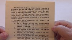 1971 Recruit Regiment Review Training Center, Coast Guard, Videos, Video Clip