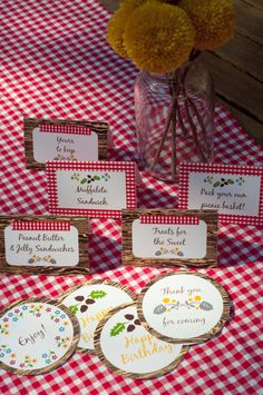 Woodland Party Invitation Printable Picnic Set by AestheticNest, $13.00