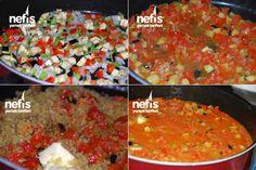 Sebzeli Bulgur Pilavı Yapılışı 1 Salsa, Mexican, Ethnic Recipes, Food, Bulgur, Essen, Salsa Music, Meals, Yemek