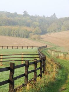 "a beautiful morning in our normandy valley - MY FRENCH COUNTRY HOME - *🇫🇷 Misty field in autumn from ""My French Country Home"" (Normandy, France) by Sharon Sant - My French Country Home, Country Living, Country Fences, Country Roads, Country Farm, Country Decor, Weekend France, Beautiful Morning, Feeling Beautiful"