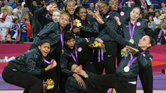 2012 USA Women Team Honored NBAE/Getty Images  On the heels of gold-medal performances at the 2012 Olympic Games, USA Basketball named its 2012 U.S. Women's and Men's Olympic/National Teams as co-recipients of the 2012 USA Basketball Team of the Year award. Diana Taurasi got a personal nod.  Video: Road to Glory >>>More: Supernaturals | Players Abroad | Five Things ... | Angel: Trust and Believe | InspireWall